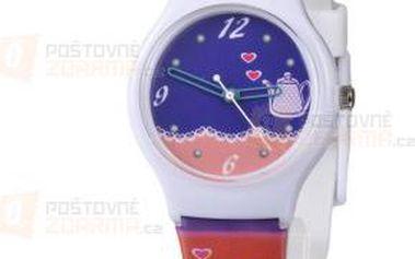 Dívčí roztomilé hodinky s konvičkou a poštovné ZDARMA! - 9999921676