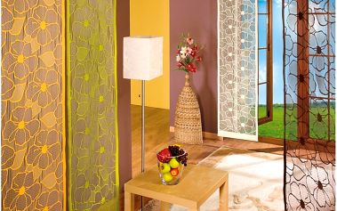 Forbyt Japonská stěna Vera krémová, 50 x 240 cm