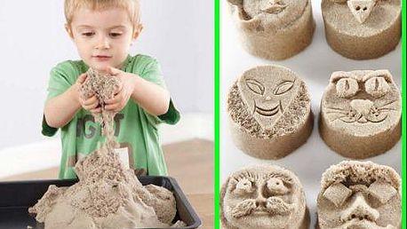 Zázračný tekutý piesok, ideálny na stavanie hradov pre vaše deti!