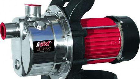 Zahradní čerpadlo ASIST AE9CZ120-INOX s výkonem 1 200 W