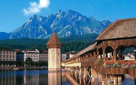 3denní poznávací zájezd do Švýcarska pro 1 osobu