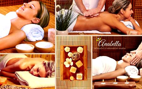 Kombinovaná masáž dle výběru v délce 90 minut