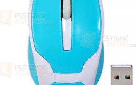 Mini optická bezdrátová myš - 4 barvy a poštovné ZDARMA! - 9999921663