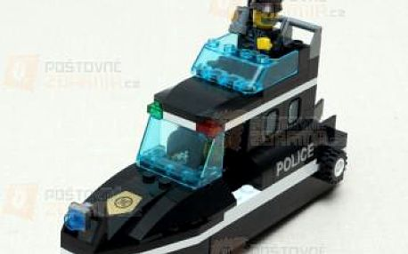 Dětská stavebnice policejní člun a poštovné ZDARMA! - 9999921622