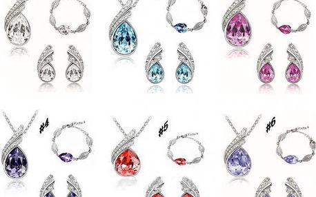 Sada třpytivých šperků Charmeine i s náramkem!