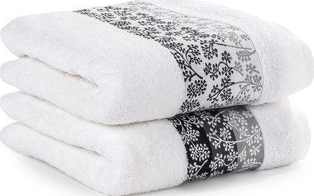4Home sada bavlněných ručníků Kamelie, 50 x 90 cm, sada 2 ks