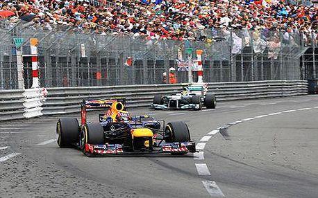 Zájezd ma Velkou cenu F1 na světoznámém okruhu v Monaku