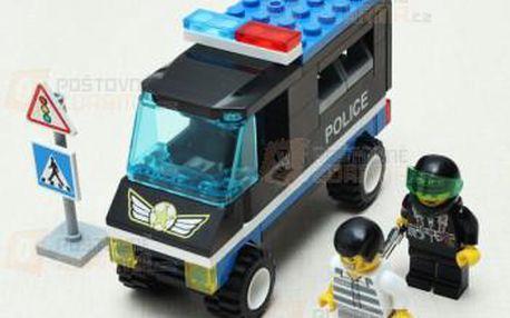 Dětská stavebnice policejní hlídka a poštovné ZDARMA! - 9999921595