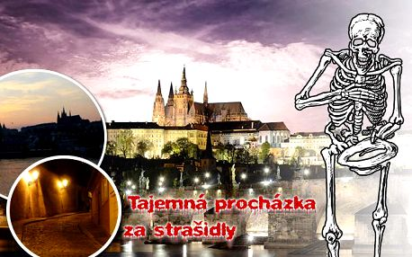 Pojďte se bát na Pražský hrad! 2hodinová procházka Za strašidly na Pražský hrad se zkušeným průvodcem!