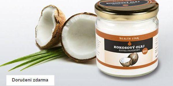 Bio kokosový olej – doručení zdarma