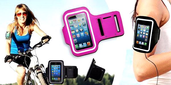 Reflexní sportovní pouzdro na telefon