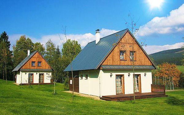5denní pobyt pro 4 osoby se saunou v horské chatě v Orlických horách