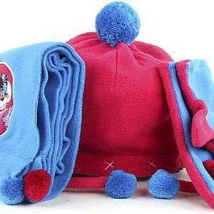 Diddl & Friends Fleecová zimní sada Diddl Fleece set, vel. S
