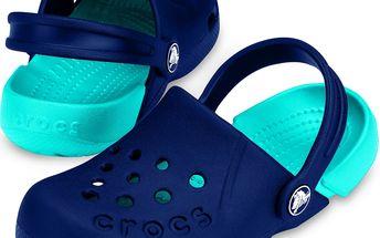 Crocs Sandály Electro modré ihned k dodání