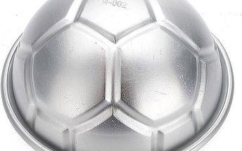 Formička na bábovku ve tvaru fotbalového míče