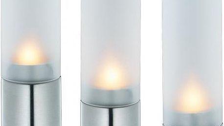 3 dílná sada svícnů na čajovou svíčku značky CILIO v dárkovém balení