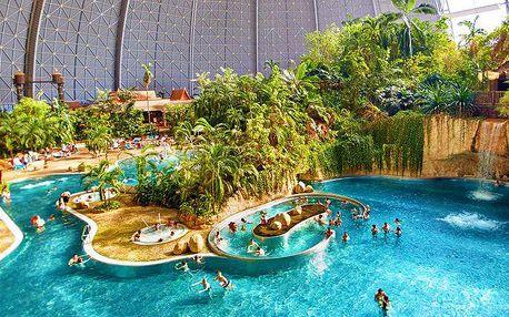 Jednodenní výlet do aquaparku Tropical Islands v Německu pro 1 osobu
