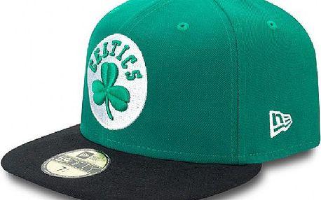 Basic Boston Celtics 59fifty Green/Black, zelená, 7 1/8