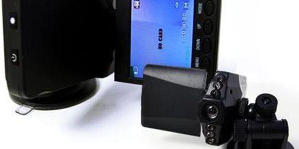 HD minikamera do auta s fotoaparátem i nočním viděním