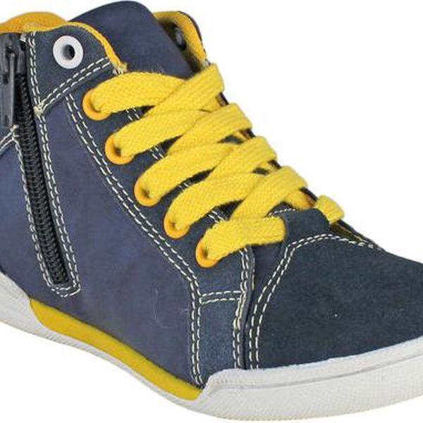 Ominoki žluto - modré tenisky