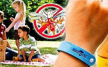 Repelentní náramky Green Luck: 40 kusů náramků proti komárům.