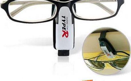 Držák na brýle s praktickým klipem - autodoplněk a poštovné ZDARMA! - 9999902741