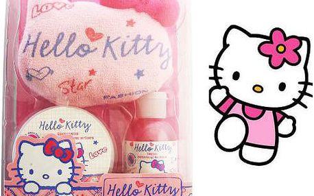 Hello Kitty Set 3ks, sada dětské kosmetiky.