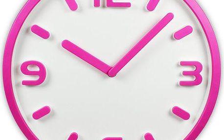 Time Life Nástěnné hodiny TL-153R růžová