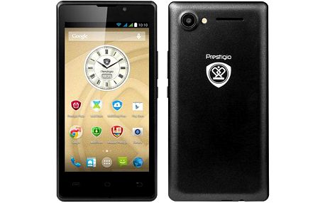 Mobilní telefon Prestigio Wize A3 (PSP3453DUOBLACK ) černý
