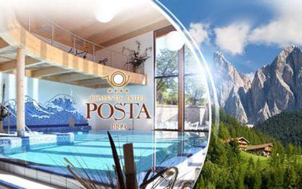 ITÁLIE! 6 DNÍ pro DVA s POLOPENZÍ a WELLNESS v TRENTINU! Dovolená ve 4* hotelu s platností na 1 rok!