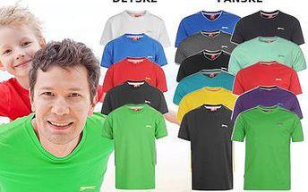 Dětská nebo pánská trička značky Slazenger včetně poštovného!
