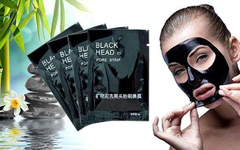 10 ks korejské černé masky pro dokonale čistou pleť