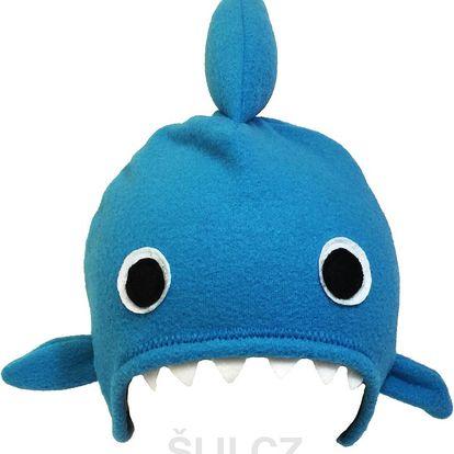 Šiji Dětská čepice Žralok