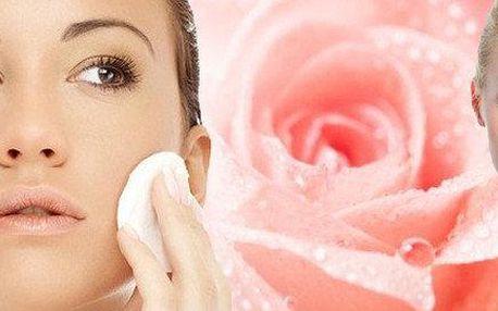 Luxusní kosmetické ošetření a aplikace přírodní masky