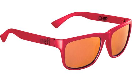 Chip Sunglasses Red Soft Touch
