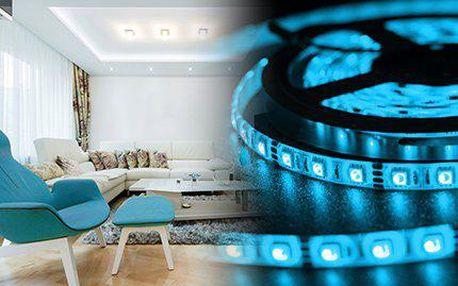 5metrový RGB LED pás s diodami