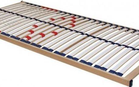 Praktický nepolohovací postelový rošt Duostar v rozměru 90x200 cm