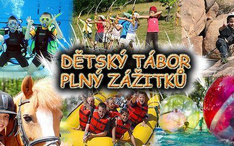 Osvědčený letní tábor pro vaše děti, na kterém se zaručeně nebudou nudit. Děti střílí z luku a z paintballek, lezou po skalách, hrají hry, jezdí na bruslích, vyzkouší aquazorbing, potápění a spoustu další zábavy i adrenalinu. POSLEDNÍCH 6 VOLONÝCH MÍST