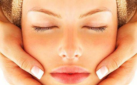 Luxusní kosmetické ošetření s ultrazvukem a masáží obličeje, krku a dekoltu
