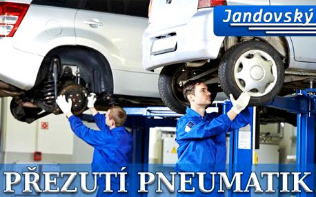 PŘEHOZENÍ KOL či PŘEZUTÍ PNEU na počkání včetně vyvážení pneu!