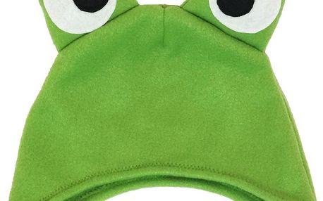 Šiji Dětská čepice Žabák