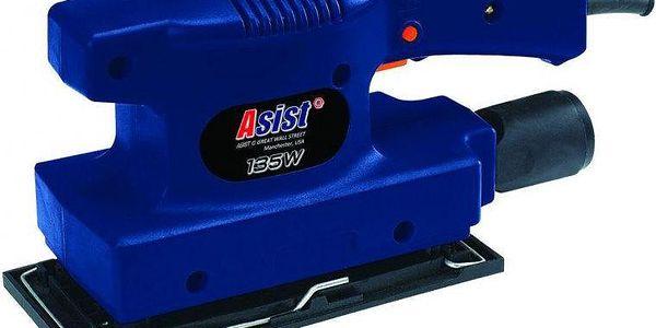 Vibrační bruska Asist AE3V35D s dostatečným výkonem 135 W a otáčkami 10000/min