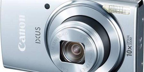 Digitální fotoaparát Canon IXUS 155 IS stříbrný