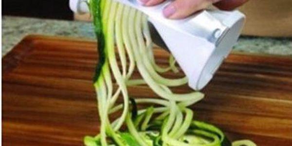 Veggetti kráječ pro zeleninové špagety!
