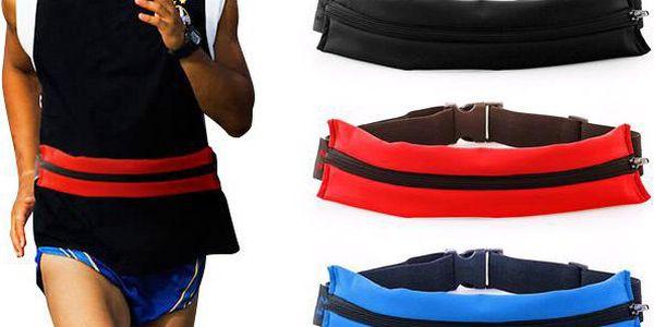 Sportovní opasek s kapsou na běhání, jízdu na kole a další sporty