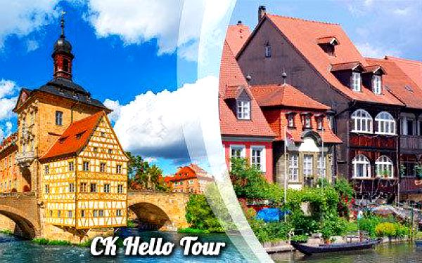 Bavorský Bamberg se zastávkou v Bayreuthu