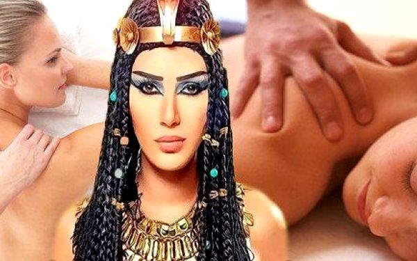 "Masáže Cleopatra - program ""Tutanchamon"""