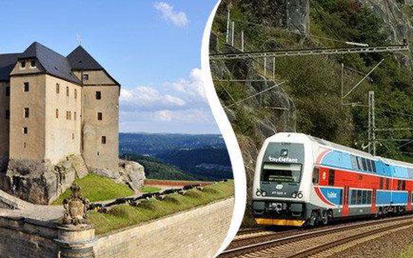 Hrad Königstein v Saském Švýcarsku