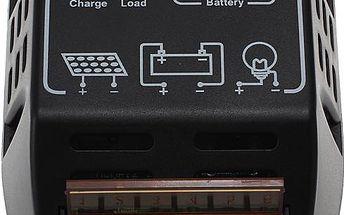 Solární regulátor pro fotovoltaické panely - 12 V/24 V