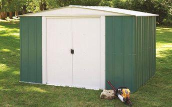 Kovový zahradní domek Arrow DRESDEN 108